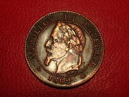 France - 2 Centimes 1862 K Bordeaux Napoléon III 4543 - Frankreich