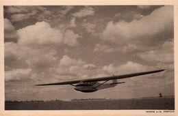 """CARTE POSTALE ANCIENNE. AVION. PLANEUR BIPLACE D'ENTRAINEMENT """" CASTEL 24 """". Achat Immédiat - 1946-....: Moderne"""