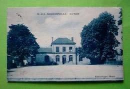 08 -  NOUZONVILLE - La Gare - Autres Communes