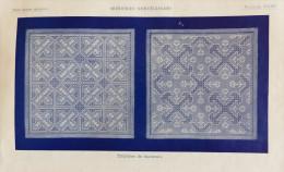 Ancien Livre De Broderie BRODERIES NORVEGIENNES Bibliothèque DMC Editions TH. Dillmont Années 1920 - Creative Hobbies