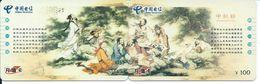 2 Télécartes Chine China Peinture  (D 527) - Chine