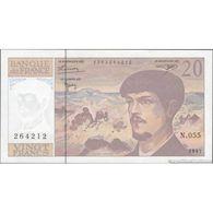 TWN - FRANCE 151i - 20 Francs 1997 Series N.055 - Signatures: Bonnardin, Barroux & Bruneel UNC - 1962-1997 ''Francs''