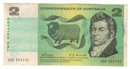 Commonwealth Of Australia 2 Dollars 1968 Phillips Randall - Emissioni Governative Decimali 1966-...