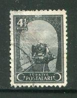 TURQUIE- Y&T N°979- Oblitéré - Treni