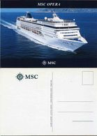 "Ship Postcards - Passenger   Ship : "" Opera   ""  Variant  Read Description - Unclassified"