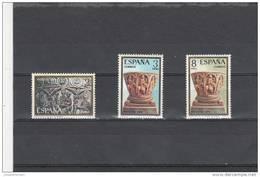 España Nº 2217 Al 2219 - 1971-80 Nuevos & Fijasellos