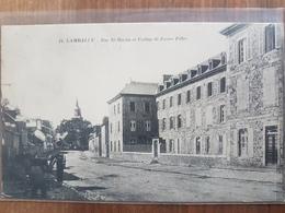 Lamballe.rue Saint Martin Et Collège.charron - Lamballe