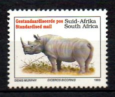 AFRIQUE DU SUD. N°813 De 1993. Rhinocéros. - Rhinozerosse