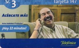 TARJETA TELEFONICA DE PERU. PREPAGO (004) - Peru