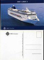"""Ship Postcards - Passenger   Ship : """" Lirica    """"  Variant  Read Description - Unclassified"""