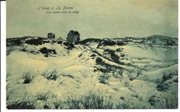 DE PANNE - Dunes Sous La Neige - (vers 1904) - De Panne
