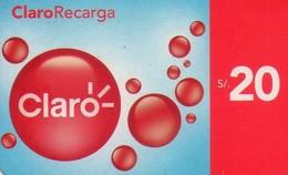 TARJETA TELEFONICA DE PERU. PREPAGO (010) CADUCIDAD 01.2011 - Peru