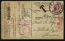 Z06 - Aanvraag Aansluiting Lijfrentkas - OBP 195 - Leuven / Louvain 1926 - Strafport / Taxe - 1922-1927 Houyoux