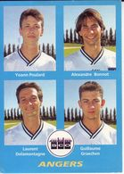 - Image Panini. FOOT 96. ANGERS. Image De 4 Joueurs. N° 352 - - Panini