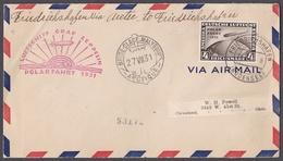 Rie_ Deutsches Reich -  Mi.Nr. 458 - Zeppelin Brief - Deutschland