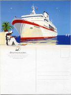 "Ship Postcards - Passenger   Ship :  "" Deutschland"" Variant    Read Description - Non Classificati"