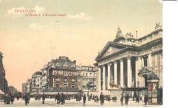 Bruxelles - CPA - Brussel - Boulevard Anspach - Lanen, Boulevards