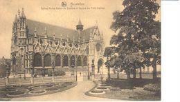 Bruxelles - CPA - Brussel - Eglise Notre-Dame Du Sablon - Lanen, Boulevards