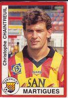 - Image Panini. FOOT 1995. MARTIGUES. Christophe Chaintreuil. N° 164 - - Panini