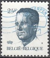 Belgique 1990 COB 2356 O Cote (2016) 0.30 Euro Roi Baudouin Cachet Rond - België