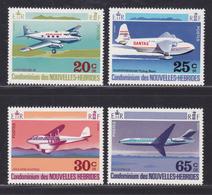 NOUVELLES-HEBRIDES N°  318 à 321 ** MNH Neufs Sans Charnière, TB (D6561) Avions Divers - Légende Française