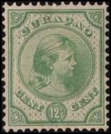 ~~ Curacao 1892/1895 - Wilhelmina 12½ Cent - NVPH 20 * MH ~~~ - Niederländische Antillen, Curaçao, Aruba
