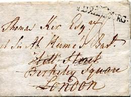 Luxembourg - Lettre Préphilatélie 1793 - Londres - Luxembourg
