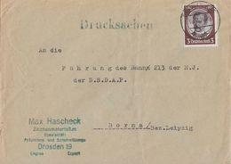 DR Brief Drucksache EF Minr.540 Dresden 14.7.34 Ansehen !!!!! - Briefe U. Dokumente