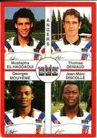 - Image Panini. FOOT 1995. ANGERS. Image De 4 Joueurs. N° 325 - - Panini