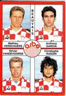 - Image Panini. FOOT 1995. BEAUVAIS. Image De 4 Joueurs. N° 331 - - Panini