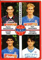 - Image Panini. FOOT 1995. CHÂTEAUROUX. Image De 4 Joueurs. N° 333 - - Panini
