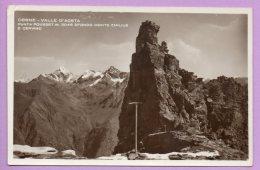Cogne - Valle D'Aosta Punta Pousset Sfondo Monte Emilius E Cervino - Italia