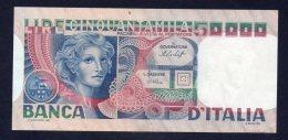 Banconota Italia 50000 Lire Volto Di Donna 12/6/1977 - [ 2] 1946-… : République