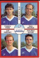 - Image Panini. FOOT 1995. VALENCE. Image De 4 Joueurs. N° 395 - - Panini