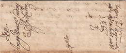 France Great Britain 1585 Corsini Correspondence Entire Letter From Paris To London (q180) - ...-1840 Precursores