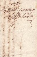 France Great Britain 1585 Corsini Correspondence Entire Letter From Paris To London (q182) - ...-1840 Precursores