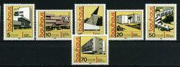 """ALLEMAGNE R.D.A.    Style De Construction """"Bauhaus""""   N° Y&T 2169 à 2174 ** - Ungebraucht"""