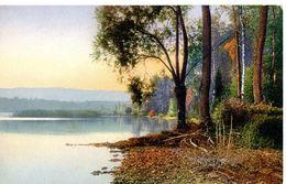 Schweiz - Serie 129 -  See - Wald - Hügel - Lac - Plage - Foret - Colline - Jura - Künstlerkarten