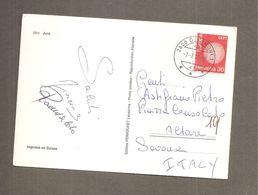 1970 EUROPA CEPT HELVETIA 30 STORIA POSTALE  CARTOLINA JURA - Svizzera