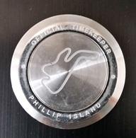 """Rare Jeton """"Tissot - Official Timekeeper - Word Championship F1 - Motogp - Circuit Phillip Island (Australie) - Professionnels / De Société"""