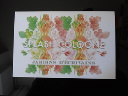 Splash Cologne Parfum Double Carte Size Carte Postale - Modern (from 1961)