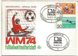 ALEMANIA BERLIN 1974 COPA MUNDIAL DE FUTBOL FOOTBALL - Coppa Del Mondo