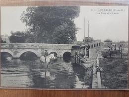 Lamballe.le Pont Et Le Lavoir - Lamballe