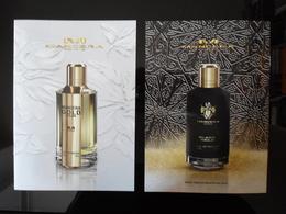 Mancera Paris Parfum Double Carte - Cartes Parfumées