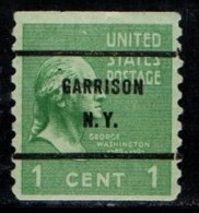 "USA Precancel Vorausentwertung Preo, Locals ""GARRISSON"" (NY) - United States"