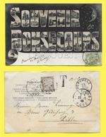 CPA BONSECOURS Souvenir ( Précurseur 1905 Surtaxée ) - Belgique