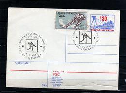 911-CZECHOSLOVAKIA  - WORLD CHAMPIOHSHIPS ICE HOCKEY BRATISLAVA - PRAG 1992- SPECIAL POATCARD - Hockey (Ice)