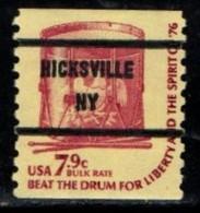 "USA Precancel Vorausentwertung Preo, Locals ""HICKSVILLE (NY). - United States"