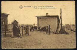 Z07 - Asse Relegem - Kazerne - Wacht En Ingang Van Het Kantonnement / Caserne - Garde Et Entrée Du Cantonnement - Asse