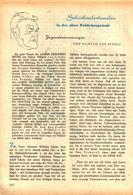 Schicksalsstunden In Der Reichshauptstadt(Jugenderinnerungen Von Wilhelm V.Scholz /Artike, Entnommen Aus Kalender /1959 - Books, Magazines, Comics